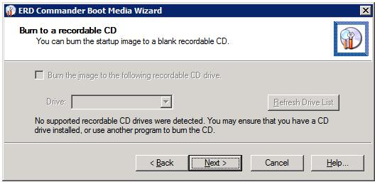 MDOP DaRT - замена загрузчика восстановления для Windows 7 и Server 2008 R2 - Блог IT-KB