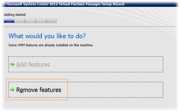 System Center 2012 Virtual Machine Manager - Обновляемся до