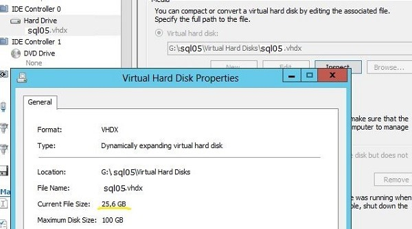 SCDPM 2012 R2 Troubleshooting: Exception virtual disk VHD
