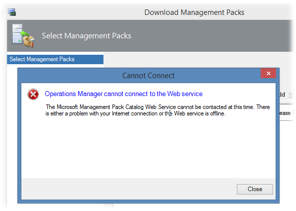 System Center 2012 R2 Operations Manager Console