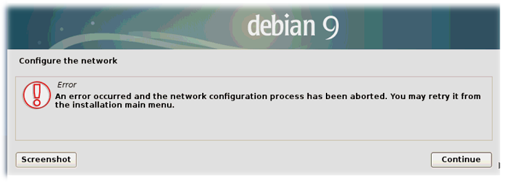 Особенность установки Debian GNU/Linux 9 3