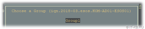 ESOS Hosts - Add Initiator for Group