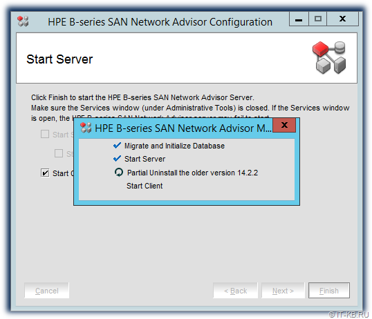 HPE B-series SAN Network Advisor Migration