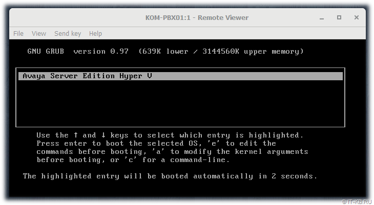 oVirt Administration Portal Started VM Console