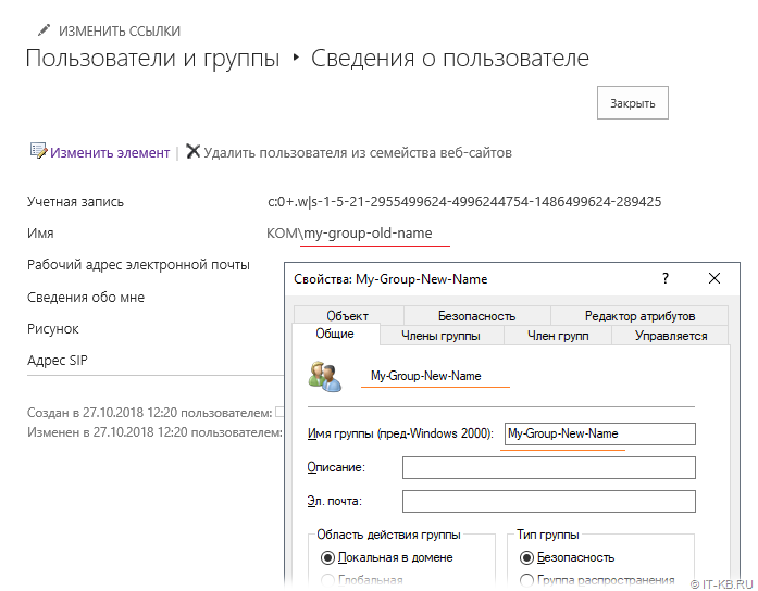 SharePoint Server AD Group UnSync