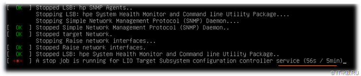 systemd unit stop service timeout