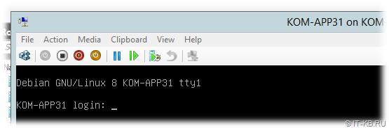 Linux Debian 8 EFI Boot in Hyper-V VM