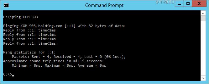 Windows-Server-2012-R2-ping-hostname-via-ipv6