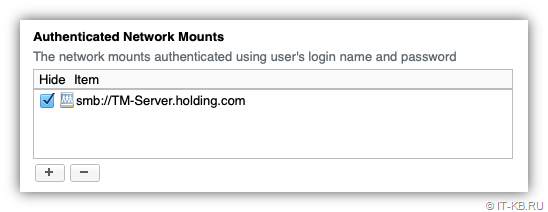 macOS Login Items