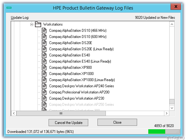 HPE Product Bulletin Gateway Catalogs Update