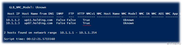 PowerShell script found NMC1 via HTTP