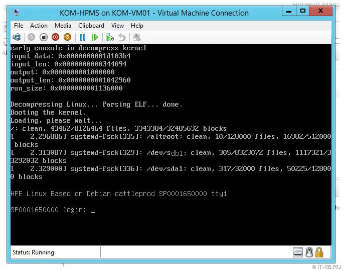 3PAR VSP 5.0 Boot in Hyper-V Manager Console