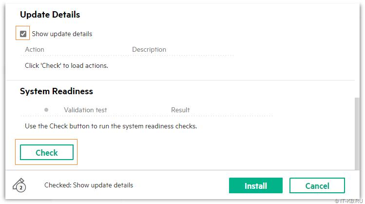 3PAR Service Console - Update 3PAR OS - Run Pre-Check